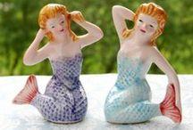 Vintage Kitsch / Oh I love love love this vintage kitsch ... Retro, mid-century, guilty pleasures, alter Krimskrams
