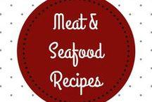 Meat & Seafood Recipes │ Fleisch & Fisch Rezepte / Get indulged by these meat and seafood recipes! │ Verwöhne deinen Gaumen mit diesen Fleisch und Fisch Rezepten!