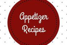 Appetizer Recipes │ Vorspeisen Rezepte / Try out these yummy starter recipes! │ Probiere diese Rezepte für leckere Vorspeisen aus!
