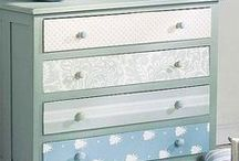 Decora con papel pintado / Diferentes usos del papel pintado en la decoracion
