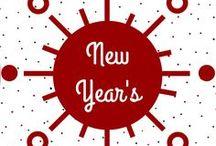 New Year's Eve │ Silvester / Celebrate the new year and treat yourself with delicious drinks, appetizers and sweets! │ Feier das neue Jahr und verwöhn dich und deine Gäste mit leckeren Drinks, Appetithäppchen und süßen Kleinigkeiten!