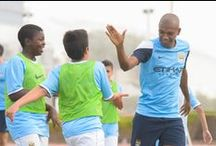 The City Football Language School / This summer 2015, City Football Schools and Experience English will be delivering a series of exciting and cutting-edge programmes for 9-17 year olds to completely immerse themselves in the world of football by learning English at the home of Manchester City.