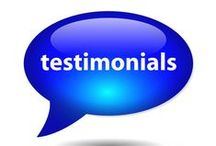 Member Testimonials / Our members say the nicest things.
