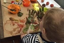 Themed Activities for Babies & Toddlers / activities to do with your baby and toddler at home for the holidays, Halloween, Easter, etc...