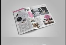 design template / magazine template, brochure template