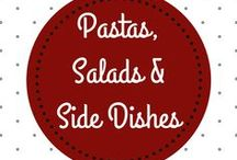 Pastas, Salads & Side Dishes | Nudeln, Salate & Beilagen / Amazing pastas salads, side dishes, and more to compliment your delicious main dish…although everything's so great, you may even want to eat it as a stand-alone meal, in which case, we won't judge!