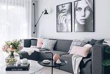 Ideas pa' Casita / Respecto a color de piezas, acomodo de muebles, iluminación, etc...