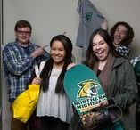 NMU Student Brand Ambassadors / Our student brand ambassadors are dedicated to sharing their experience as NMU students, from campus and the classroom, to the lakeshore and the trails! Learn more about Alyssa, Ian, Chelsea, Sarah, Neil & Tommy by visiting http://www.nmu.edu/student-brand-ambassador