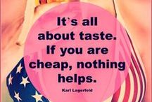 Quotes / Quotes from be kitschig blog and elsewhere. Get inspired! Zitate