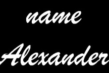 Saints with the name Alexander / Some of the Saints and Beati with the name Alexander or its variants. http://saints.sqpn.com/name-alexander/