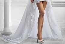 Show your .. legs! / wedding dresses