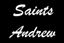Saints with the name Andrew
