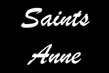 Saints with the name Anne / Saints and Beati with the name Anne or its many variations.