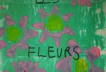 Printemps, fleurs, insectes