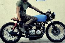Cafe Racers / And other sentimental Bikes and memorabilia of similar association.