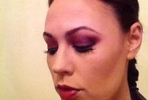 Make up / Smokey eye with berry colours by Natalie