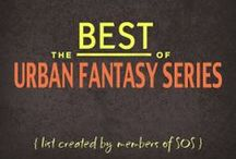 "BEST OF: Urban Fantasy Series / List created by members of the Goodreads group, SOS: Series Overload of Series. [List incl FIRST BOOK only] ""Urban Fantasy stories involve mystery and action. The characters are mostly concerned with achieving a goal (saving the world, themselves, people they love). There are often romantic subplots, but they aren't the main focus of the book. In UF, you have the same main character(s) across all books in the series, they are usually narrated in first person and set in a city or urban setting."""