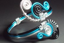 Wire wrapped rings / Wire wrapping jewellery