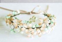Nail polish jewellery / Glass beads for rings, pendants etc