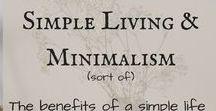 Simple Living Ideas / Live simply. Simple living ideas. Minimalism. Minimalist mom. Zero waste. Less is more!