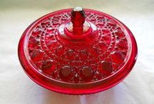 *Vintage candy dishes*