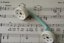 *Vintage baby rattles*