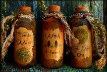 *Magic potion~spell bottles*