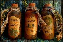*Magic potion~spell bottles*