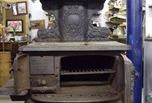 *Stoves old and new*