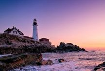 Portland Maine Lighthouses / Greater Portland is home to seven lighthouses, those silent testaments to Maine's enduring connection to the sea and a favorite of photographers from around the world.