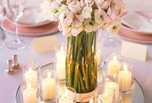 Table Decorations - Thaba Tshwene Game Lodge / Centrepieces / Flowers / Decorations / etc.
