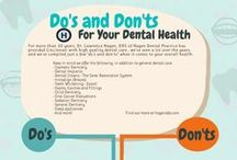 Dental Infographics / Check out these infographics for tips on taking care of those pearly whites! Brought to you by Beavers Dentist in Cary, NC