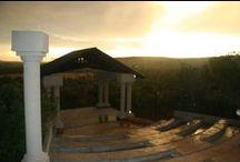 Amphitheatre at Thaba Tshwene Game Lodge / .