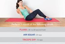 Workouts at Home / Workouts you can do in the comfort of your own home for every part of your body.