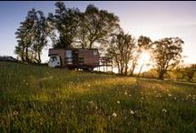 Unique UK Stays / Glamping spots and cabins to hire in Great Britain
