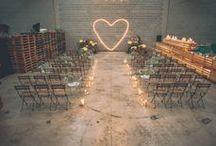 Venue Inspiration: Warehouse Wedding