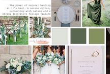 Colour Palette: Eucalyptus / Serene and Green. I love the healing powers of Eucalyptus