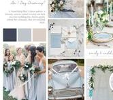 Colour Palette: Powder Blue / Am I Day Dreaming?   A 'Something Blue' colour palette. A dreamy, serene colour to wish you luck on your wedding day. Such a pretty colour for a romantic, fine art wedding style.