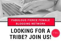 Fabulous Fierce Female Blogging Network / We are a network of fabulous fierce female bloggers who are slaying the blog game every. single. day.