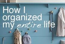 My home organised