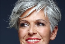 Style: Advanced - gray hair / by Nille Franck