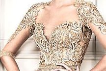 vintage, lace, beads and brocade