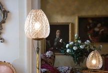 Classic Italian floor lamps / Beautiful traditional floor lamps and lights. Some Murano glass, some Italian glass. Some metal. All made in Italy, and all gorgeous!