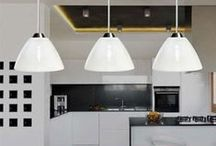 Kitchen and dining ideas / Wonderful kitchen and dining room lighting ideas, both traditional and modern. http://www.italian-lighting-centre.co.uk/