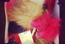 Fluffy Frenzy / This season's fluffiest accessory!  www.thufri.com