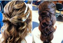 From flowing curls to tight buns / Hairstyles and hair inspiration