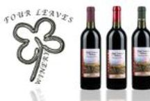 Our Wines / Wines available through Four Leaves Winery