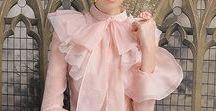 romantic blouses