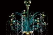 Fine De Majo chandeliers / All the wonderful De Majo Murano glass chandeliers in this section can be customized by colour and size. You'll find many more at http://www.italian-lighting-centre.co.uk/majo-illuminazione-m-13.html#.VQa5WOHeJL8