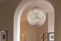Glittering glass crystal lighting / Beautiful modern and classic Italian crystal lights, lamps, and chandeliers with loads of bling appeal! We export worldwide!